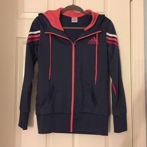 Adidas Hooded Jacket - Like New